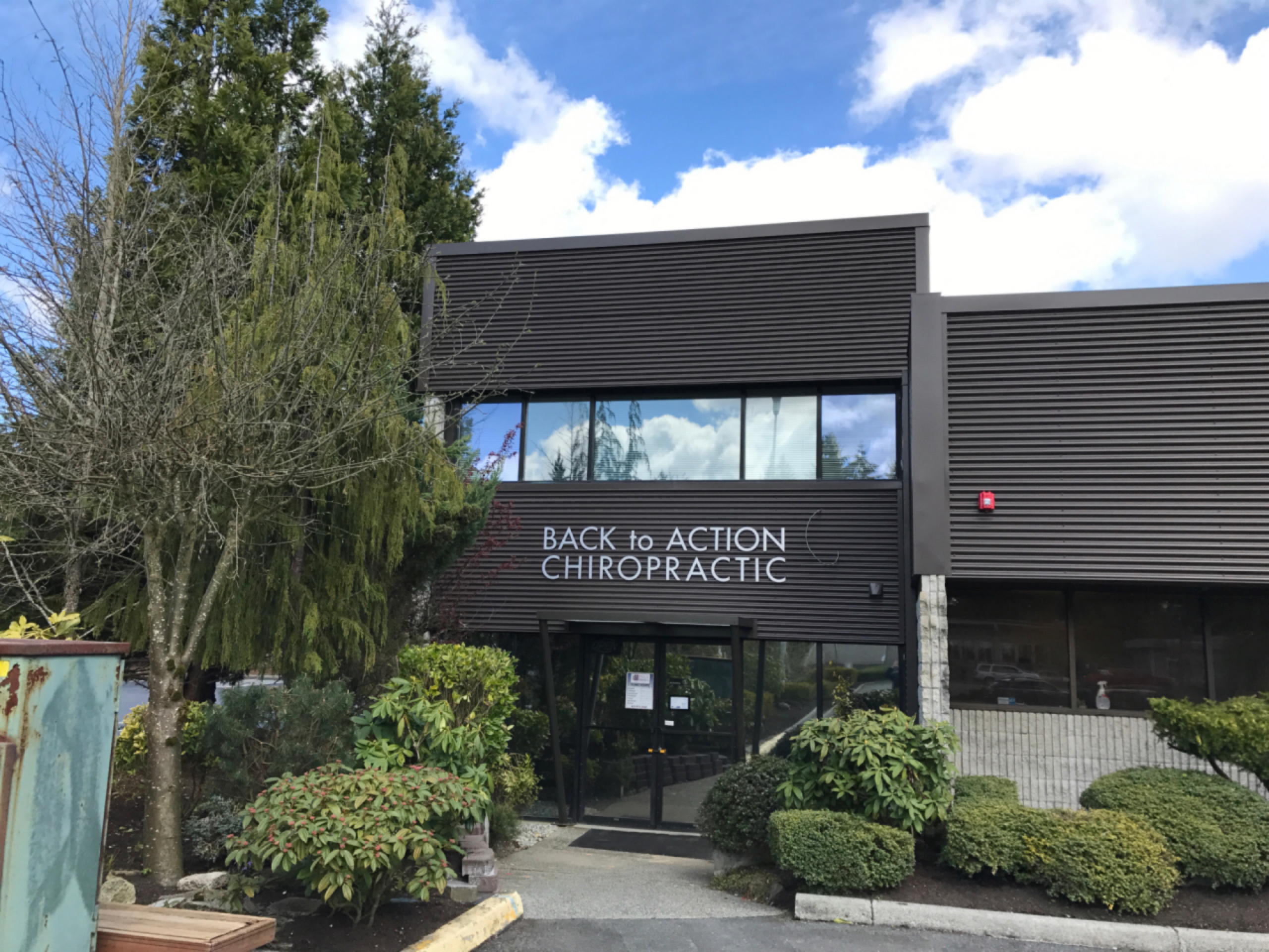 Back To Action Chiropractic and Massage front view
