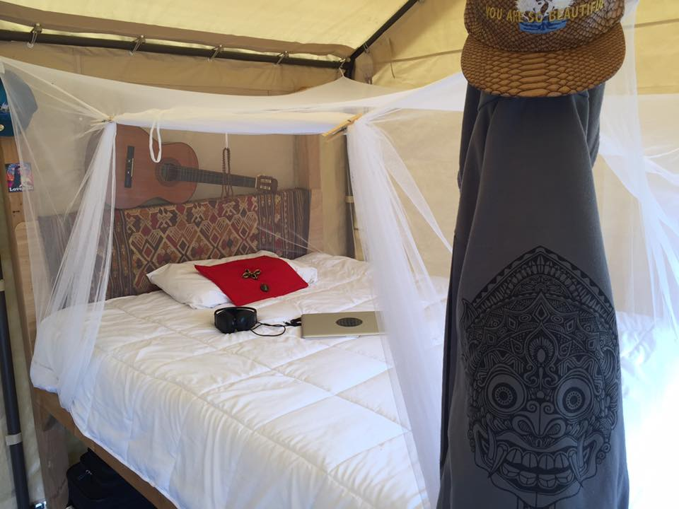 Glamping Is Our Most Popular Choice With A Generous Canopy Housing Two Queen Beds Complete Bug Nets For Your Sweet