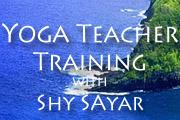 Yoga Teacher Training with Shy Sayar
