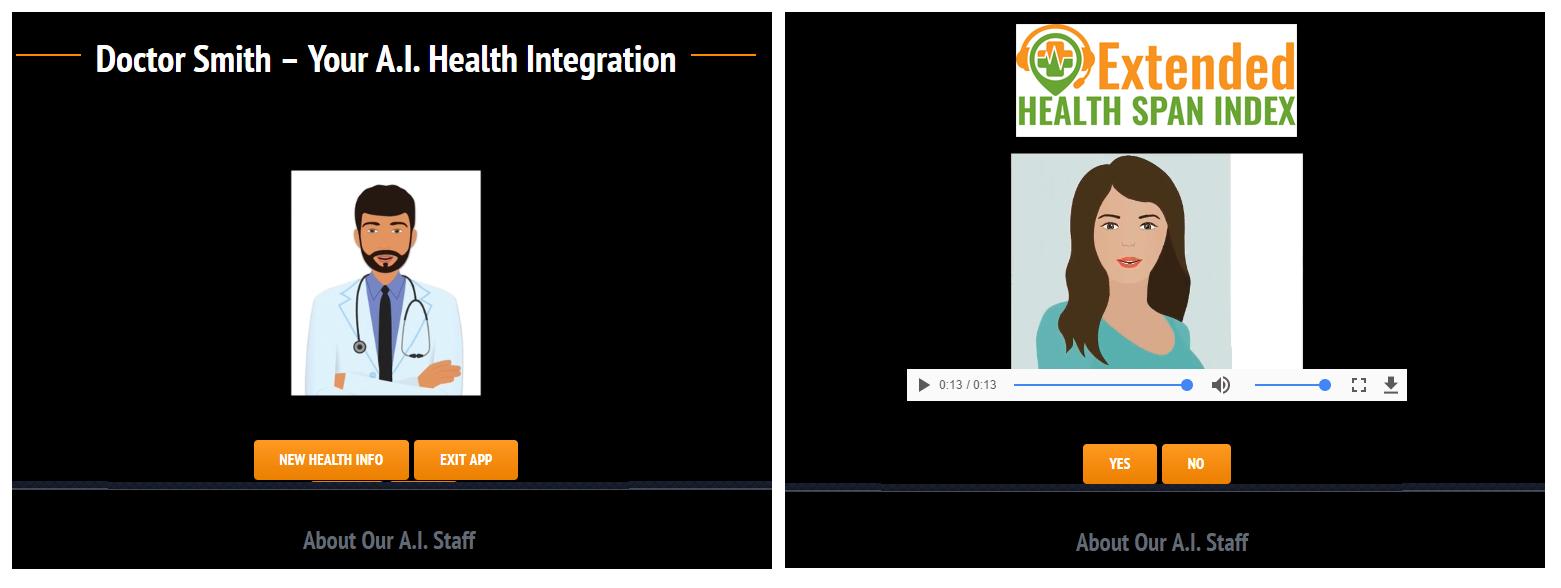 Interactive Health Span Scorecard
