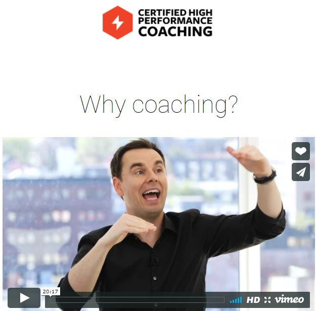 Brendon Burchard: Why Coaching?