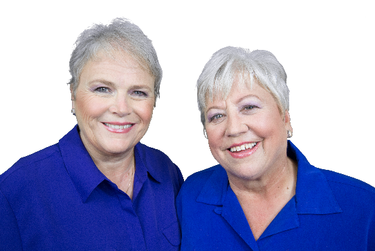 Cheryl Baldwin & Mary Finerty